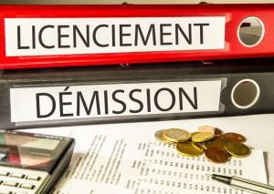 Licenciement, Dmission (emploi, classeur)